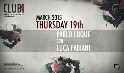Club4 Pablo Luque B2B Luca Fabiani