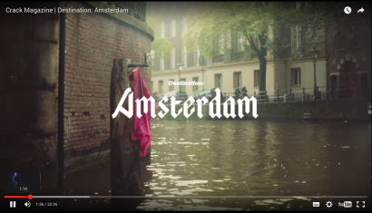 Crack Magazine Documentary Destination Amsterdam